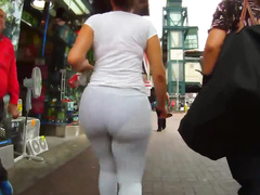 Chasing her enormous buttocks through the streets